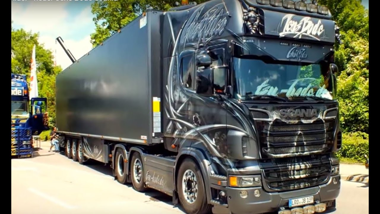 Ghost Rider - neuer Jens Bode Scania - YouTube