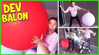 Slime Challenge Dev Mega Balon Slaym Eğlenceli Çocuk Videosu Dila Kent