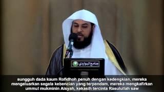 syaikh al arifi   membela kehormatan ummul mukminin aisyah radliallahu anha