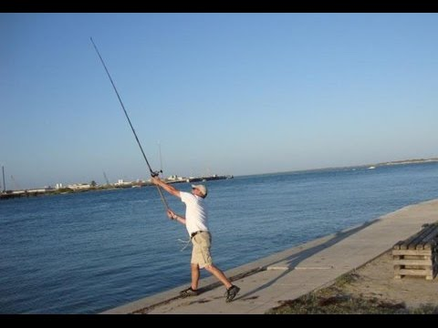surf casting the abu garica 10000i reel on a 10 ft ocean master, Fishing Rod