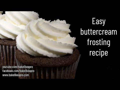 Easy No Fail Buttercream Frosting Recipe