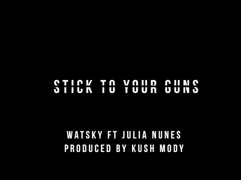 Stick To Your Guns- Watsky Ft. Julia Nunes