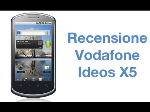 Vodafone Ideos X5 / Huawei U8800 Pro, la recensione by AndroidWorld.it