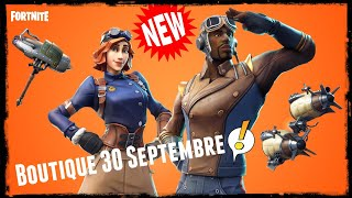 Fortnite:NEW SKINS Boutique September 30, 2018 #Fortnite #FortniteFr #BattleRoyale #BattleRoyale #Shop