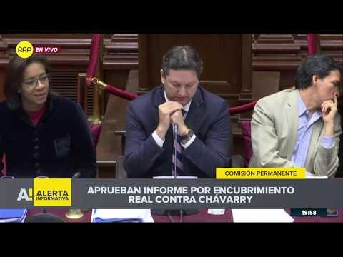 Congreso no acusó a Pedro Chávarry por organización criminal