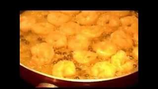 Shrimp Scampi Over Pasta)(gamberetti In Vino Bianco Over Pasta)cooking With Josephine Romano