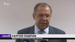Лавров: на встрече с Тиллерсоном о санкциях не говорили