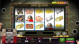 Legalne kasyno: Wielkie wygrane w kasynie online na slocie piggy bank +2664$