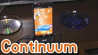 Probando Continuum, ¿El futuro de Windows 10?