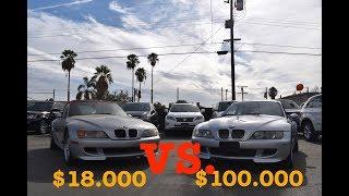 BMW e36 z3m coupe $100.000 за BMW 2002г Тест драйв