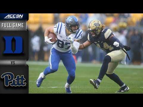 Duke vs. Pittsburgh Full Game | 2018 ACC Football Mp3