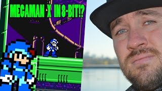 Megaman X In 8 Bit!!!!??? - An Xtreme Review - Top Hat Gaming Man
