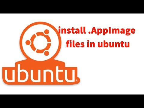 how to install  AppImage files in ubuntu || ubuntu - YouTube