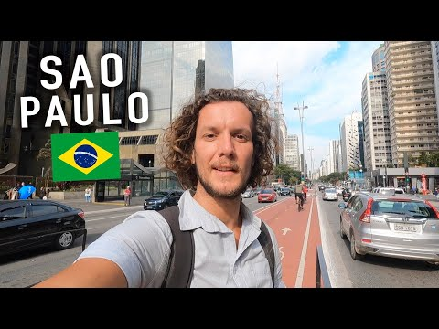 FIRST TIME IN SAO PAULO!