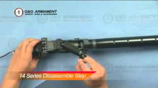 Desmontar M14 G&G o similares como Tokyo marui, dboys, classic army, cyma