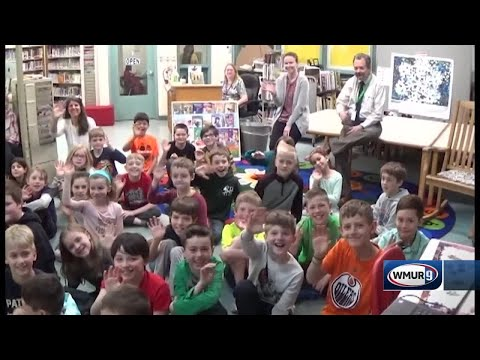 School visit: Harold Martin School in Hopkinton