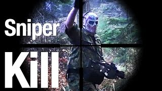 Airsoft Sniper Gameplay - Scope Cam - ASCSB Koop ASCW FFA