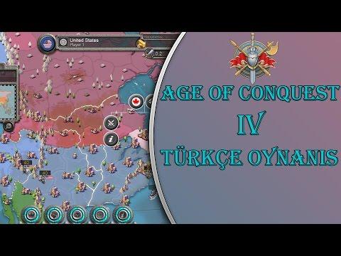 Age Of Conquest IV : Türkçe - Keyifli Bir Strateji Oyunu! (Bölüm 1)
