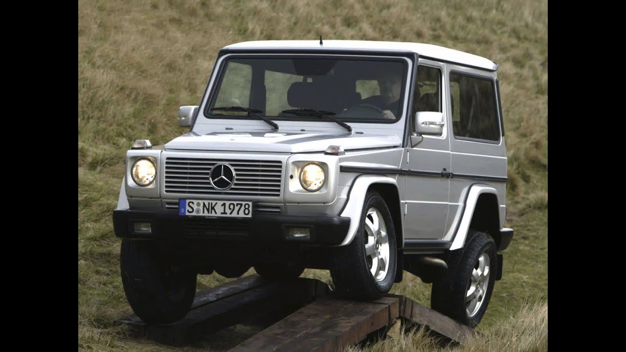 mercedes benz g klasse ii w463 suv 3 doors exterior. Black Bedroom Furniture Sets. Home Design Ideas