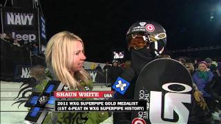 Winter X Games 15 - Shaun White Gold Medal interview