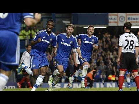 John Mikel Obi's First Ever Premier League Goal