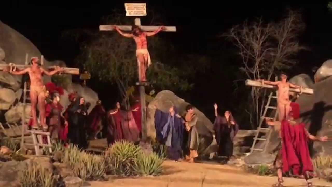 Paixão de Cristo de Nova Jerusalém - Pernambuco 2015 - YouTube