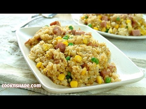 Leftover Ham and Fried Rice