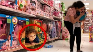 Pique Esconde na Loja de Brinquedos Dany e Cadu