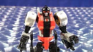 TRANSFORMERS GENERATIONS POWER OF THE PRIMES LEGENDS CLASS DINOBOT SLASH VIDEO TOY REVIEW