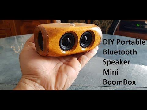 DIY Portable Bluetooth Speaker 2x5w Mini BOOMBOX (Mega BASS)