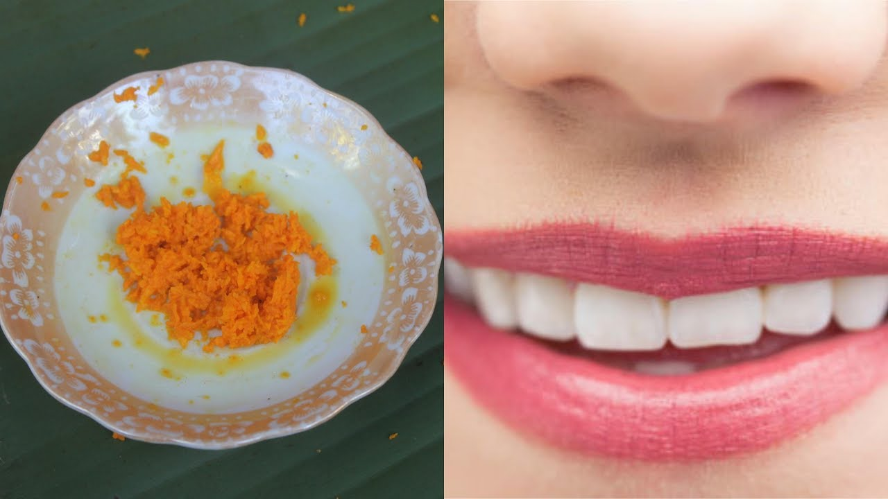 Cara Ampuh Memerahkan Bibir Hitam Dengan Kunyit