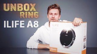 NENORIU SIURBTI!!!   ILIFE A8   Unbox Ring apžvalga