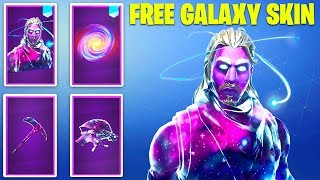 "HOW YOU CAN GET ""GALAXY SKIN"" FOR FREE IN 2019 FORTNITE!"