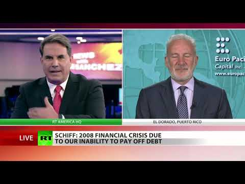 US economy about to collapse... & dollar's going down with it - Peter Schiff