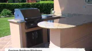 Outdoor Kitchen Grill Island Designs