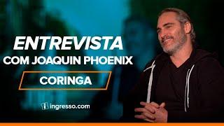 Coringa | Entrevista com Joaquin Phoenix | Ingresso.com
