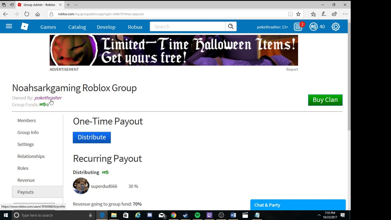 How To Use The Group Admin Roblox Tutorial Youtube