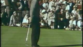 1960 Masters Tournament Winner Arnold Palmer Rare Full Movie (part 6)