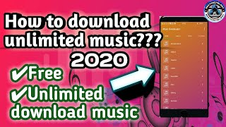 HOW TO DOWNLOAD FREE MUSIC | ANDROID DEVICES UNLIMITED MUSIC DOWNLOAD APP screenshot 3