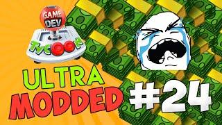 Game Dev Tycoon Ultra Modded #24 - $4 BILLION MMO w/Seniac