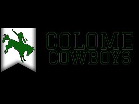 Colome Cowboys vs Kimball White Lake WildKats (BBB)