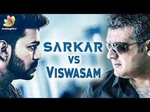Vijay & Ajith Choose Same Release date | Sarkar, Viswasam | Hot Tamil Cinema News thumbnail