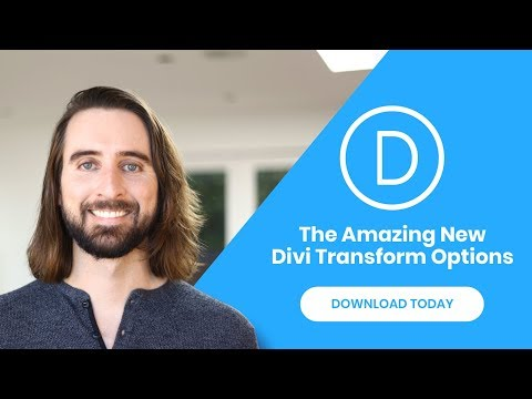 The All New And Amazing Divi Transformation Controls! thumbnail