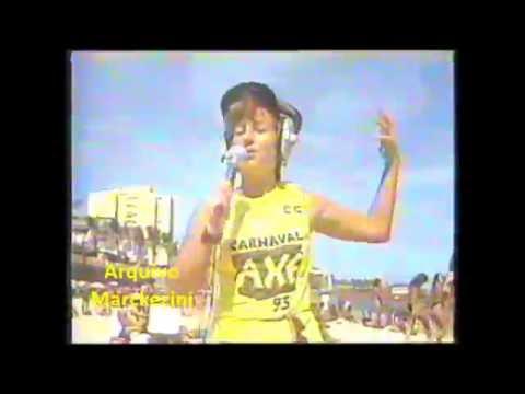 Rosana Hermann no Carnaval da Rede Manchete (1993)