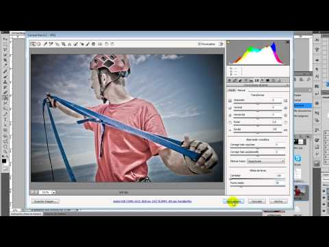 Tutorial Adobe Photoshop // Efecto Dave Hill simulado [SUB]