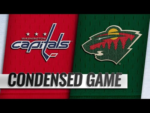 11/13/18 Condensed Game: Capitals @ Wild
