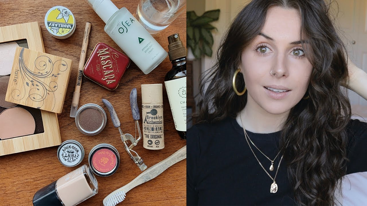 Zero Waste Makeup Routine Plastic Free Amp Natural Brands
