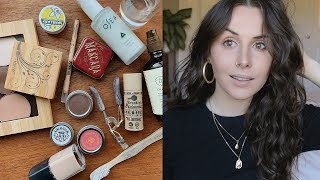 Zero Waste Makeup Routine | plastic free & natural brands and products THAT WORK!