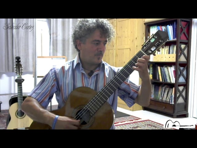 Salvador Cortez CC-50 | Chitarra classica | Antonio D'Alessandro - Capriccio n. 2 Op. 20, L. Legnani