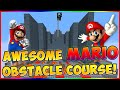 """MARIO OBSTACLE COURSE RACE! """"EPIC TEXTURE PACK MAP!"""" W/PrestonPlayz"""
